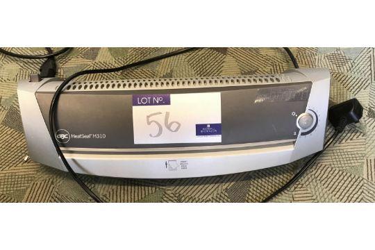 A gbc heatseal h310 laminator.