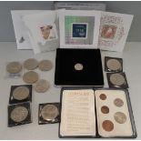 Vintage Retro Colelctable Coins GB & Canada Millennium Keepsake