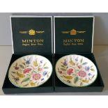 Vintage Retro 2 x Minton Dishes Boxed NO RESERVE
