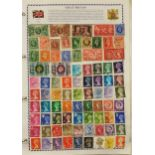 Philatelia Stamp Album Loose Leaf 600 Plus Great Britain Commonwealth & World Stamps