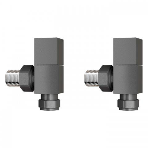 h120 15mm standard connection square angled anthracite. Black Bedroom Furniture Sets. Home Design Ideas