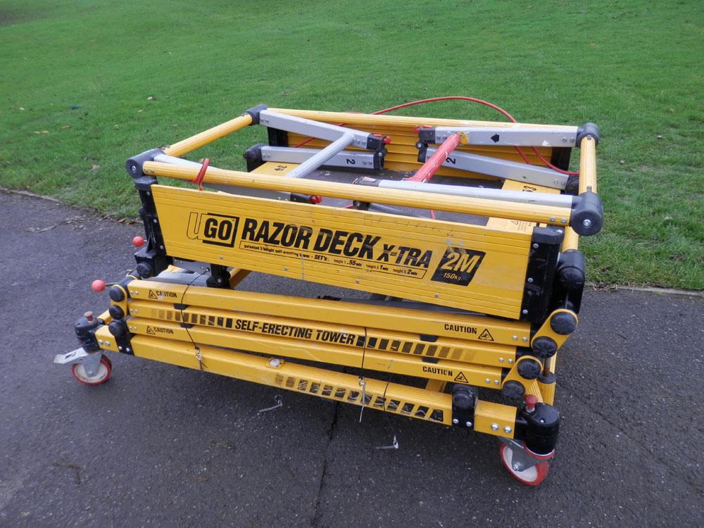 Ugo Razor Deck 2m Access Platform Platform Area 767mm X
