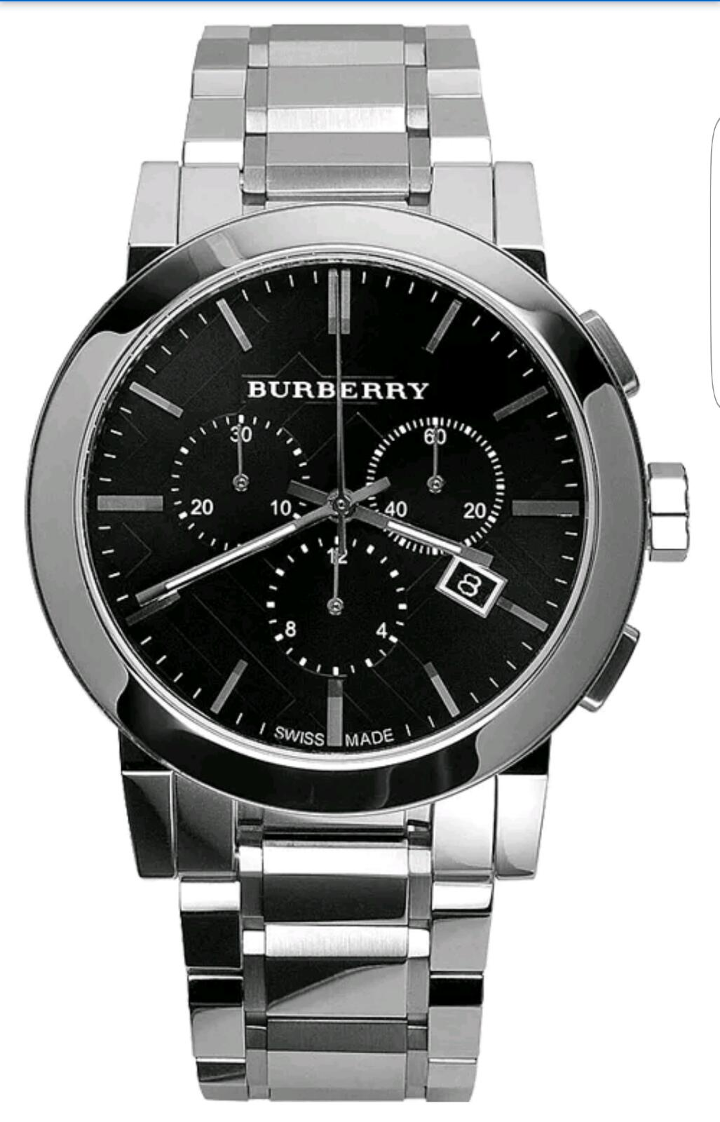 Brand new gents burberry watch bu9351 complete with original box and manual rrp 399 for Burberry watches