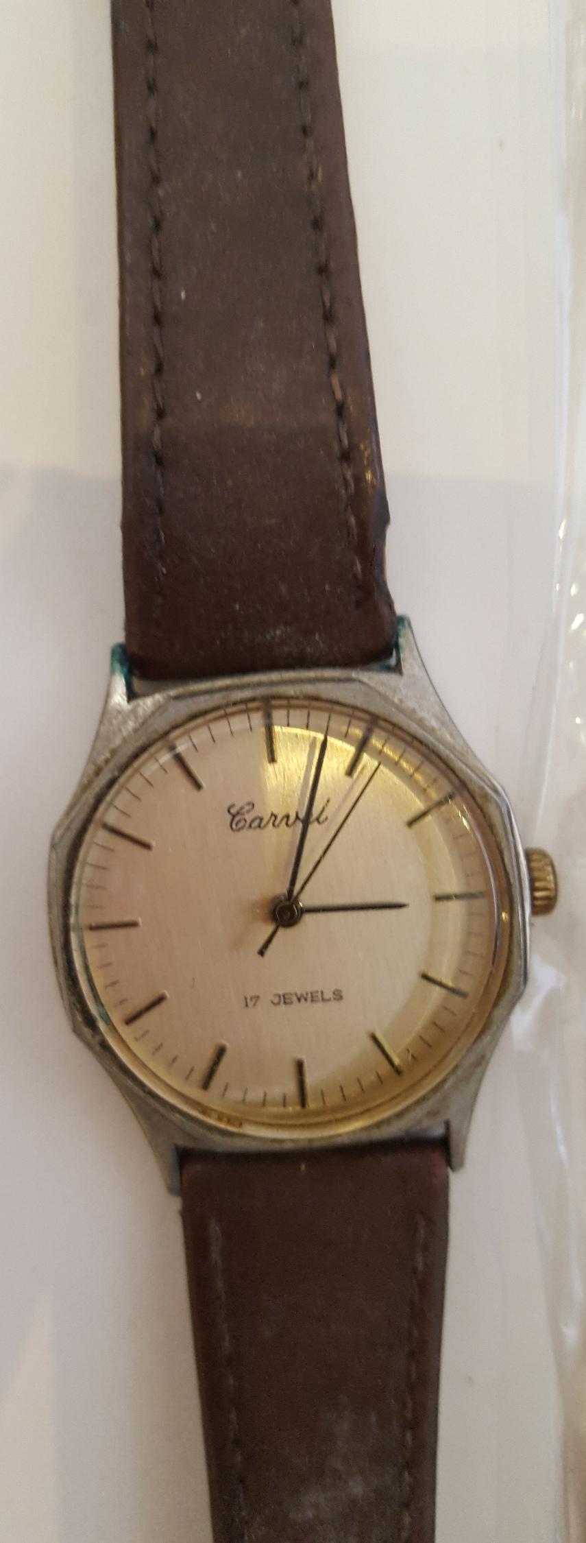 Lot 21 - Vintage Wrist Watches 1 x Carvel 17 Jewels 3 x Eiger & 1 x Limit
