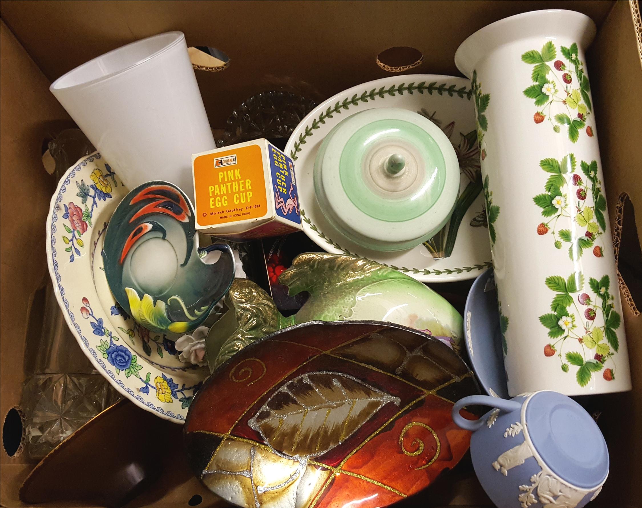 Lot 59 - Vintage Box Portmerion Shelley China & More