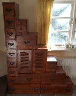 Lot 27 - Vintage Retro Pidgeon Hole Style Storage Unit