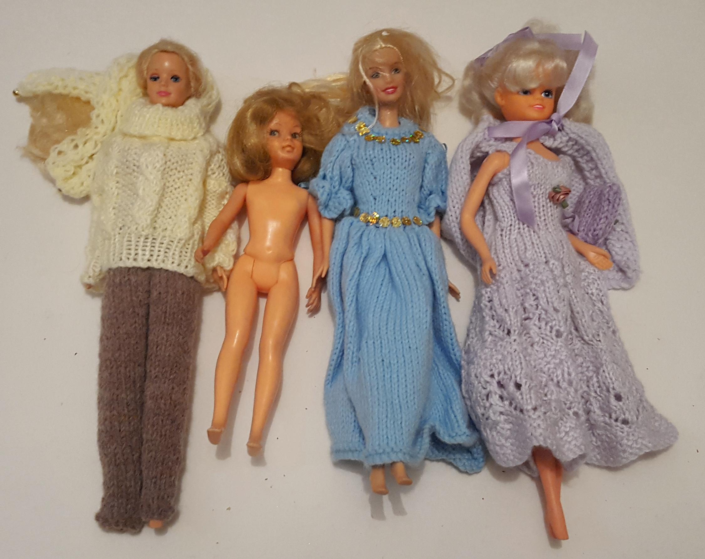 Lot 53 - Vintage Retro 4 x Collectors Dolls Ideal Mattel & Delavennat c1960's & 1990's NO RESERVE