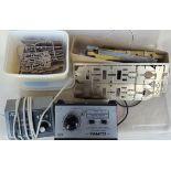 Vintage Retro Model Train Equipment 00 Gauge Includes Controls & Kits NO RESERVE