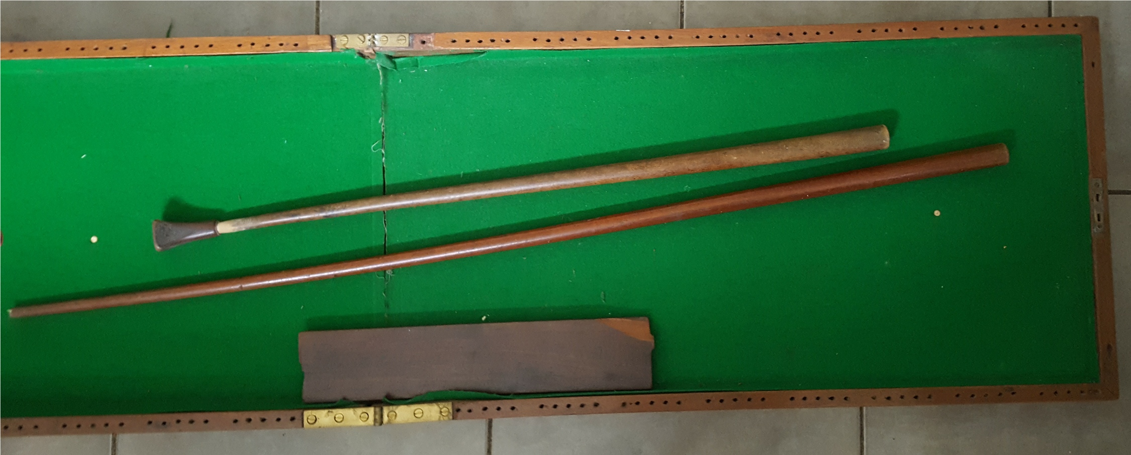 Lot 47 - Antique Vintage Snooker Style Bagatelle Board