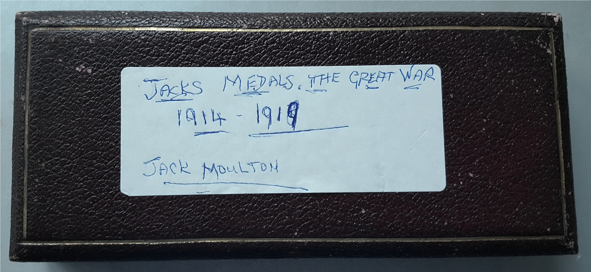 Lot 51 - Military Medals WWI & WWII St Johns Medals Miniatures Pt 41059 J H Moulton R. Wilts Yeo