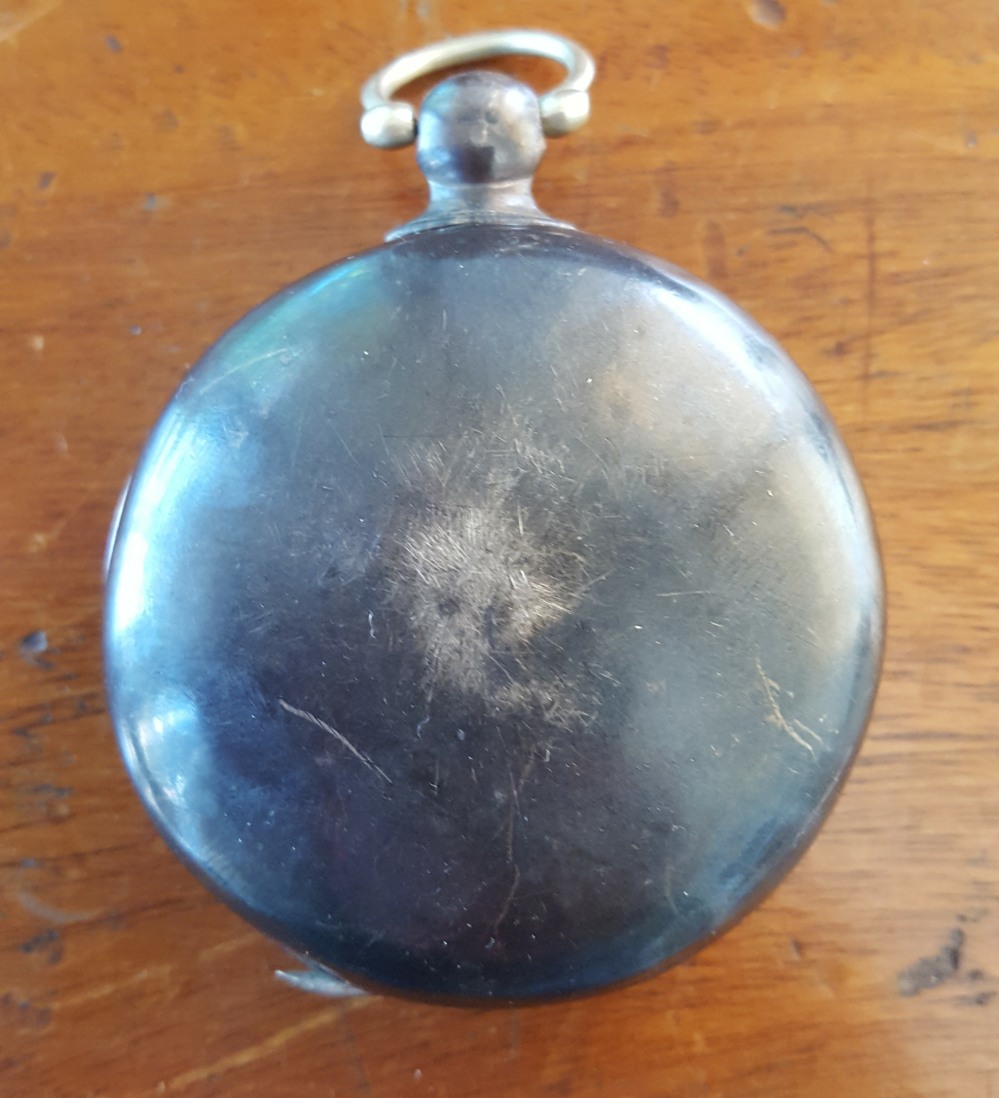 Lot 25 - Antique S Benzies of Cowes Full Hunter Silver 935 Pocket Watch with Masonic Connections