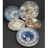 Vintage Collection of 13 Daily Mail & Other Plates