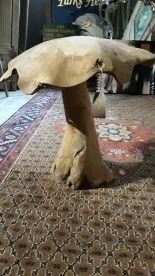 Lot 61 - lot 61 Large wooden toadstool