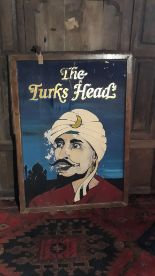 Lot 63 - lot 63 Turks head pub sign