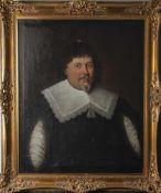 Unbekannter Künstler (17. Jahrhundert), Halbkörperporträt des Reichspfennigmeisters Moritz Canter,