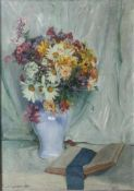 "Segisser, Paul (1866-1934), Stillleben mit Blumen, 1924, Öl/Lw, li. u. sign. u. dat. ""Paul"