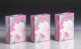3 x Eau de Toilette, L'Orchidée Leonard, 100 ml, originalverpackt.