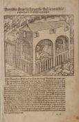 Petracameister (15./16. Jahrhundert), Holzschnitt: Vom Leben Francisci Petrarche, um 1500, ca. 28