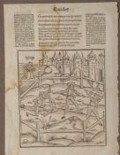 "Brant, Sebastian (um 1457-1521), Virgil, 1502, Holzschnitt ""Eneidos"", verlegt bei Grüninger"