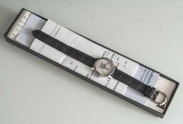 Dresdner-Frauenkirche-Uhr, Damenarmbanduhr zum Wiederaufbau der Frauenkirche Dresden, 2004,