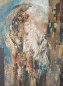 "Seminova, Olga (geboren 1953), ""Erscheinung der Maria"", Öl/Lw., re. u. sign. u. dat. (19)92, rs."