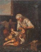 """Schierl, Josef (19. Jahrhundert), """"Häusliche Toilette"""", Kopie nach Bartolomé Esteban Murillo in"""