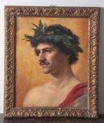 "Wedepohl, Theodor (1863-1931), ""Roma"", 1901, Öl/Lw, unten sign., bez. u. dat. ""Theodor Wedepohl Roma"