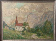 """Gerhard, Adolf (1910-1975), """"Kaisertal"""", Öl/Lw., li. u. sign. u. dat. 1956, rs. auf Keilrahmen sign."""