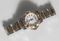 Damenarmbanduhr, Longines, Schweiz, Hydro Conquest, Ref. Nr. 34234860, helles Ziffernblatt mit