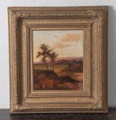 Nasmyth, Patrick (1787-1831), Idyllische Landschaft mit Wanderin, Öl/Lw, li. u. sign. Ca.30 x 25