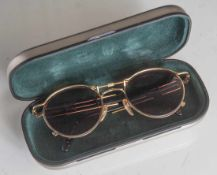 Vintage Sonnenbrille, Jean Paul Gaultier, Mod 560174-6, Gold Color in orig. Box NP, ca.800 Euro (