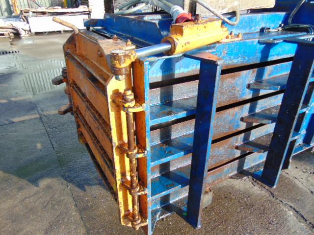 Lot 32 - Ken Mills T40H Horizontal Baling Press Waste Compactor