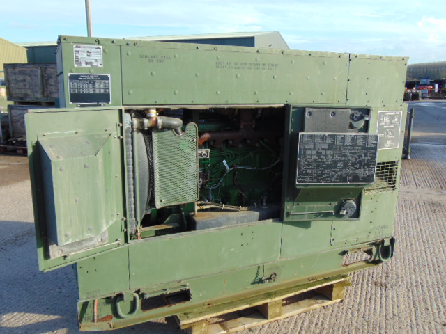 Lot 36 - MEP-806B John Deere Diesel Powered 3 phase 60KW-50/60HZ Generator