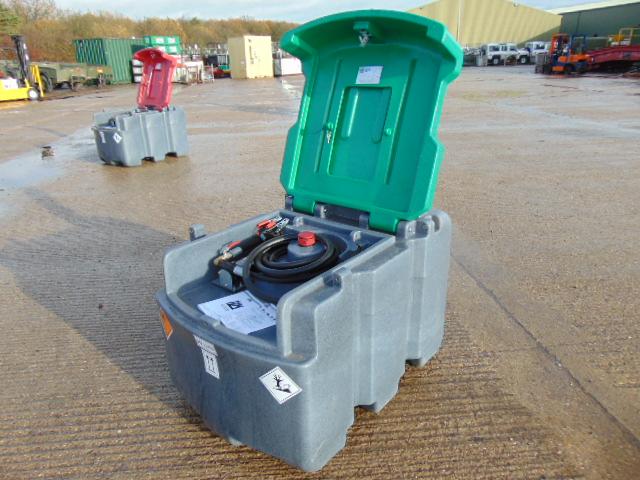 Lot 24 - JFC TT-425 425L Mobile Diesel Tank C/W 12v Fuel Pump, Nozzle, 4m Hose etc