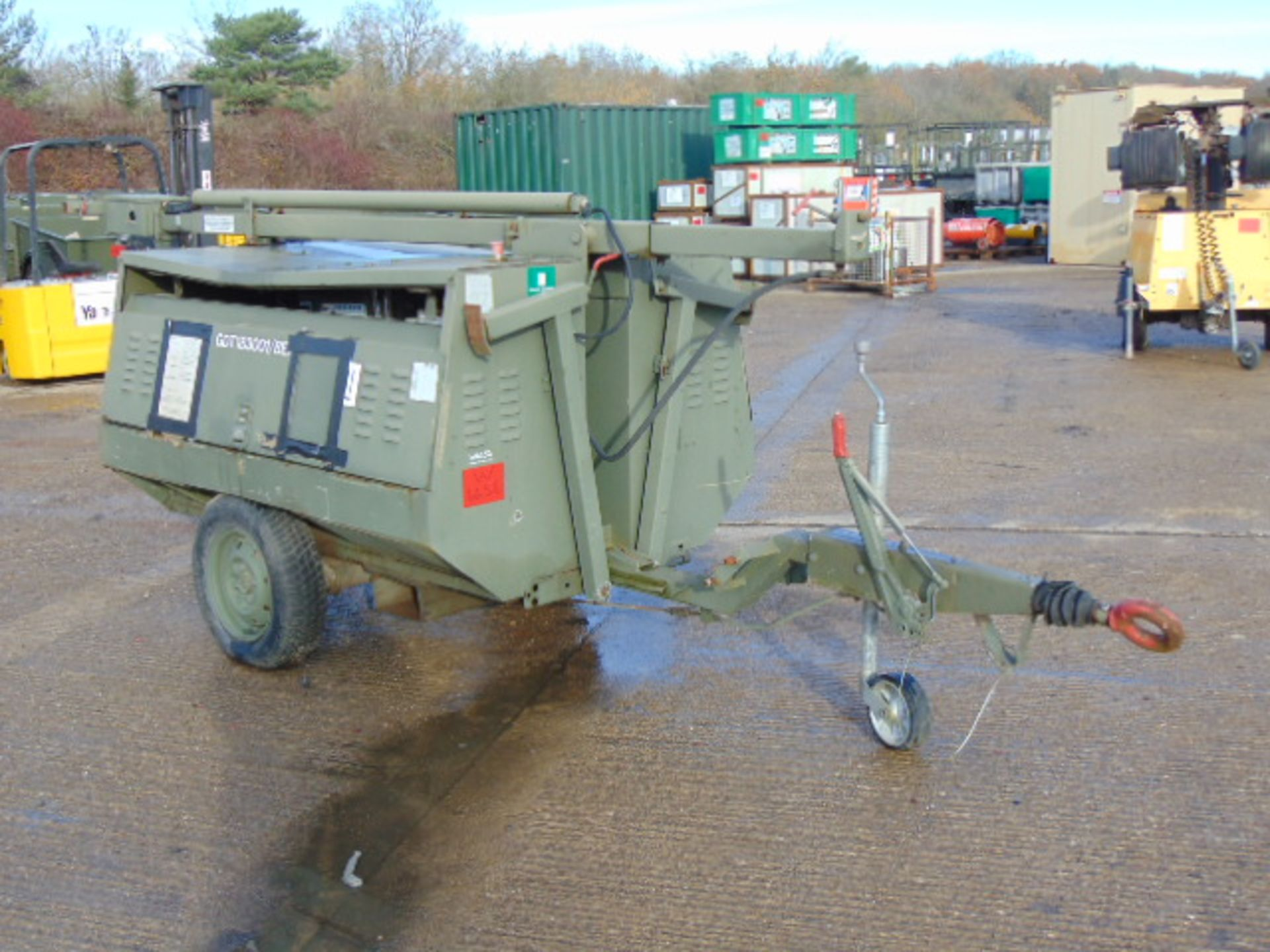 Lot 20 - HyLite Trailer Mounted TS2 Lighting Tower