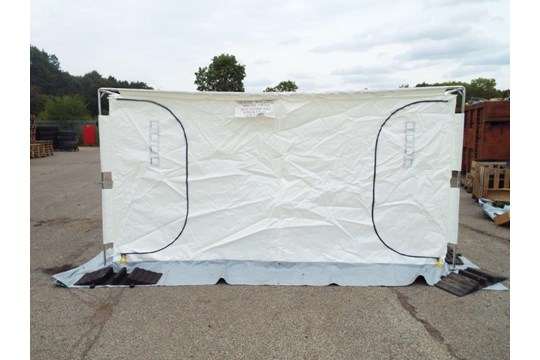 Lot 23 - Unissued 8mx4m Inflateable Decontamination/Party Tent