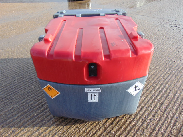 Lot 16 - JFC TT-425 425L Mobile Diesel Tank C/W 12v Fuel Pump, Nozzle, 4m Hose etc