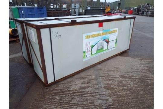 Lot 12 - Heavy Duty Storage Shelter 30'W x 70'L x 16' H P/No 3050SW-11P