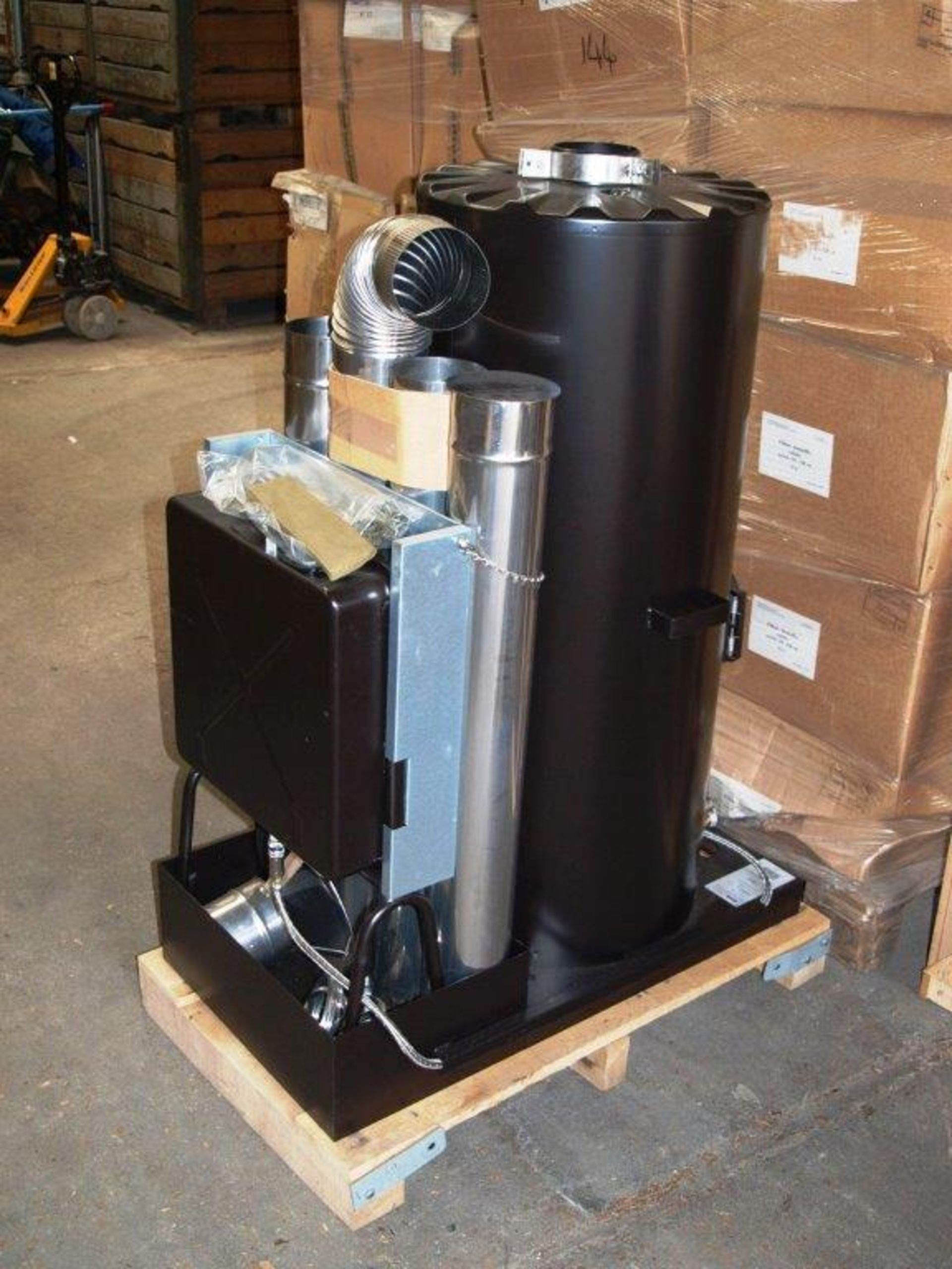 Lot 11 - Unissued Deville Campaign Multi-Fuel Heater