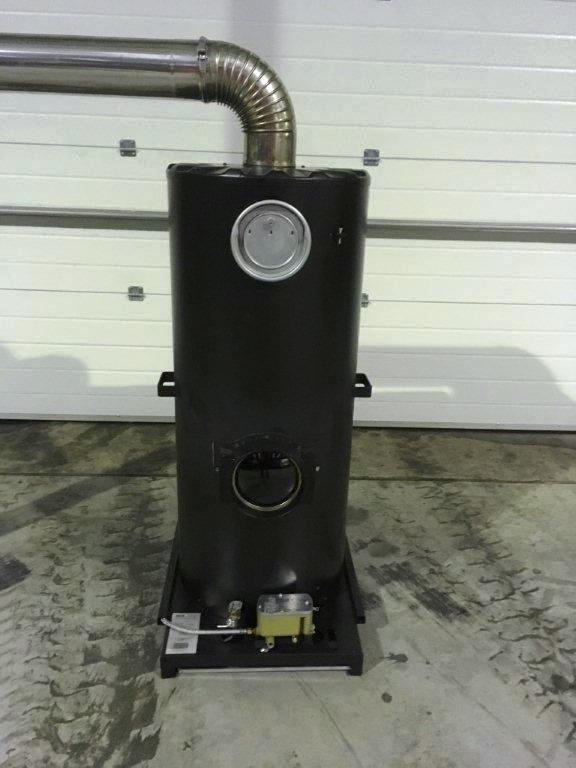 Lot 11 - Unissued Deville Campaign Multi-Fuel Heater