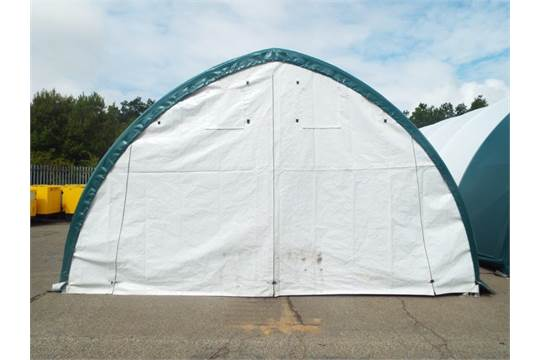 Lot 4 - Heavy Duty Peak Storage Shelter 20'W x 30'L x 12' H P/No 203012QX-8P