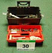 A Tool Box and Contents (As Photographed)