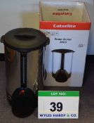 A CATERLITE 20-Litre Electric Water Boiler and Dispenser