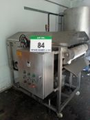 An XXD Model XDF-800-2 Liquid Fat Continuous Screen Filter, Serial No. 2909 (2014), Approx. 700mm