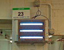 An ECOLAB Halo Aqua 3-Tube UV Insectocutor (240V)