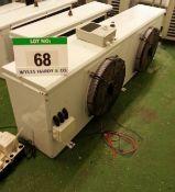A 2-Fan Evaporator Unit.