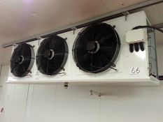 A GUAN FENG GLDFNZGZ 3-Fan Evaporator. (A Method Statement is Required Prior to Removal of this