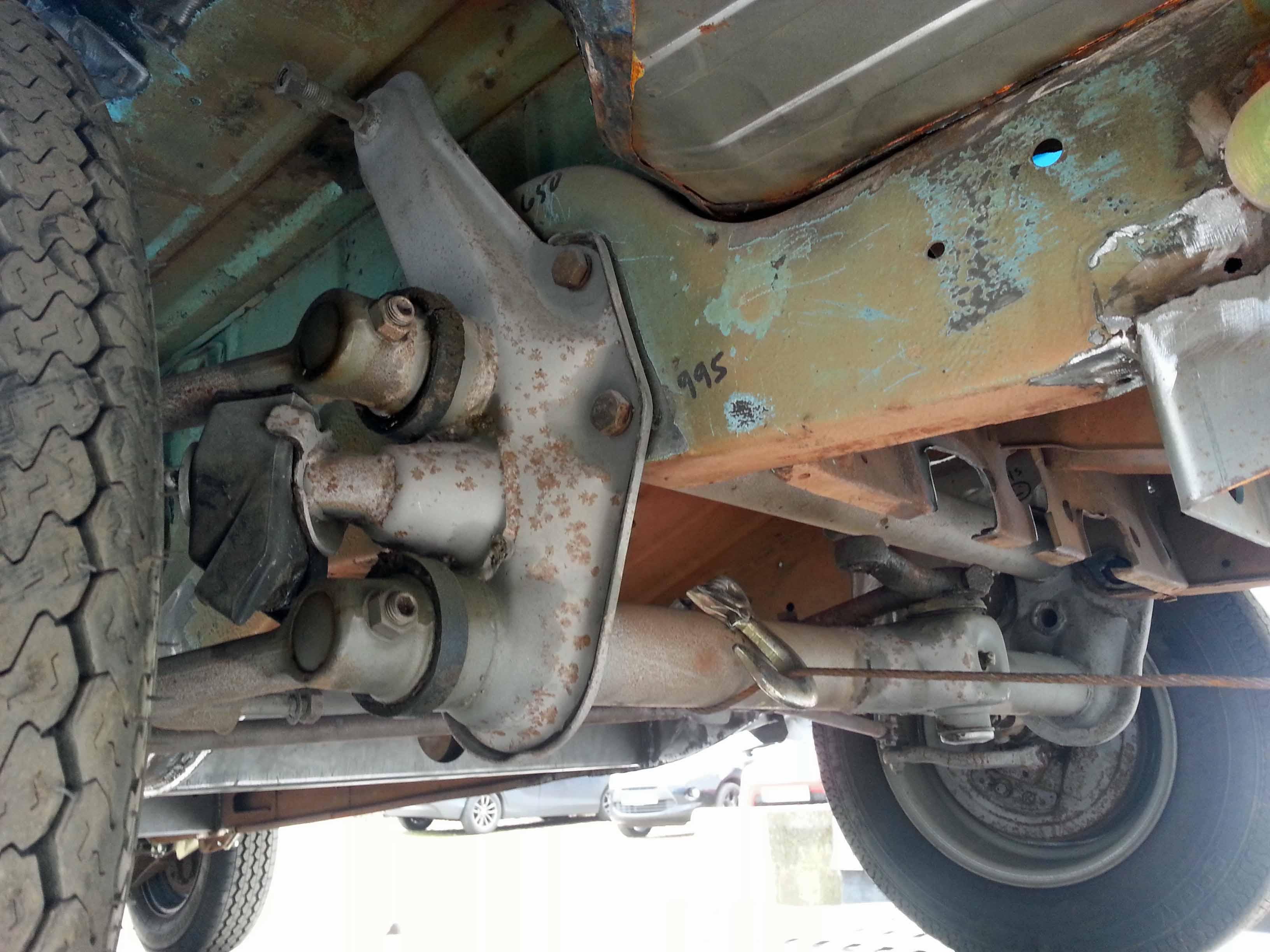 Lot 34 - 1975 VOLKSWAGEN Kombi Split Screen Van Rolling Chassis (Brazilian Import), Registration No. Not