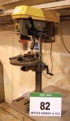 CHESTER D16 .75hp Bench Mounted Drill Press fitted Rise and Fall Table, 305mm dia. 160mm to Throat