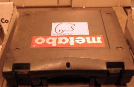 A METABO EP455 110 Volt Jigsaw wirh Blow Moulded Carry Case